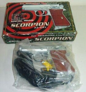scorpion special weapon light gun playstation 1 sega saturn ps1 ps2