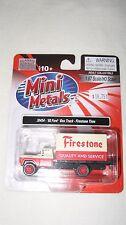 Mini Metals/CMW HO scale #30454 '60 Ford Box Truck Firestone Tires