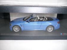 BMW M4 F83 CABRIO YAS MARINA BLUE 1:18 PARAGON DEALER VERY RARE