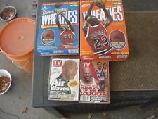 Two Michael Jordan Ceral Boxes & Two Jordan Tv Guides
