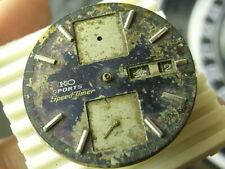 RARE Vintage SEIKO SPEED TIMER AUTOMATIC Cal.6138 movement parts Balance good