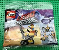 Lego Movie 2 Set 30529 MINI MASTER-BUILDER EMMET Promo 3 in 1 New, Sealed