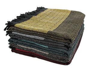 DIAMOND Throw Blanket Sofa Bed Spread Cover Turkish Cotton Double Size 210x240cm