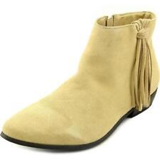 Botas de mujer de color principal beige Ante Talla 39.5
