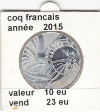 BF 1 )pieces de 10 eu coq francais 2015