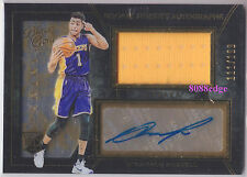 2015-16 BLACK GOLD ROOKIE JERSEY AUTO #2: D'ANGELO RUSSELL #111/199 AUTOGRAPH RC