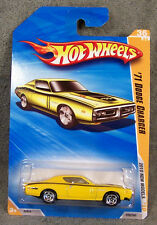 HOT WHEELS ~ 2010 NEW MODELS ~ 1971 DODGE CHARGER ~ YELLOW