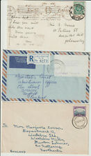 SOUTH AFRICA / NATAL - 3 POSTAL HISTORY ITEMS