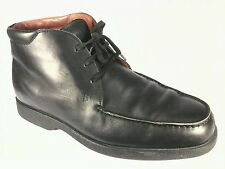 TOD'S Black Leather Lace Up Chukka Ankle Mens Boots US 9, EUR 42 UK 8.5 Great!