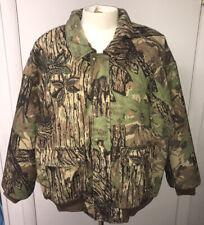 Mens CABELA'S Dry Plus Water Camouflage Hunting Jacket Coat Camo Size 3XL EUC