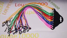 12 cordons de couleurs multiples pour lunettes de soleil , N°58B