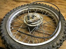 KX60 Front Wheel Assembly