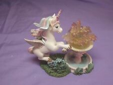 "Unicorn Figurine ""The Enchanted Fountain""; The Hamilton Collection"