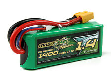 Turnigy MultiStar 1400mAh 3S 11.1V 65C Lipo Battery Pack - XT60 Quad Heli Plane