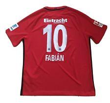 Eintracht Frankfurt Away Trikot FABIÁN #10 NIKE 2016/17 XL Jersey ToP