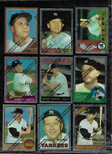 1996 TOPPS FINEST MICKEY MANTLE 19 CARD INSERT SET NEW YORK YANKEES LOOKS MINT