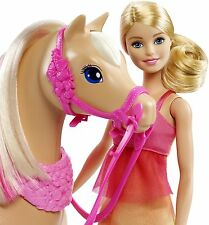 Mattel Barbie Tanzspaß Pferd & Barbie DMC30 NEU OVP