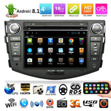 FOR TOYOTA RAV4 2006-2011 Android 8.1 Car DVD Player GPS Stereo Radio Cam Navi