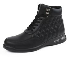 Men's Sneakers, High Top Sneaker Boots - Casual Sneakers w/ Bubble Bottom Soles