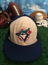 NEW ERA 59FIFTY CAP TORONTO BLUE JAYS AUTHENTIC size 7 FITTED 5950 HAT h39