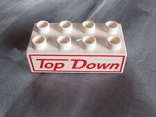 Lego Duplo aus  5816 Mack Cars Mack's Road Trip   TOP DOWN Steine XXL 8er weiß