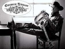 George Strait Iron On Transfer For T-Shirt & Other Light Color Fabric #3