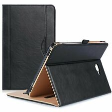 "Best Real Genuine Leather Case Smart Cover For Samsung Tab A 10.1"" SM-T580"