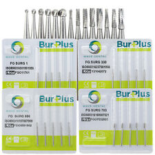Dental Carbide Surgical Burs Fg Surg 2 330 557 701 Round Fissure Pear High Speed