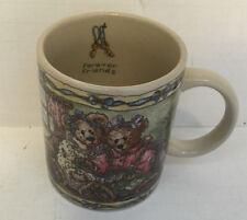 1999 the boyds collection forever friends bears coffee mug tea cup teddy bear
