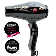 SECADOR DE PELO PARLUX  3800 IONIC&CERAMIC ECO FRIENDLY PROFESIONAL- COLOR NEGRO