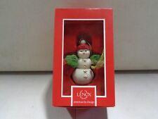 Lenox Snowman Christmas Ornament