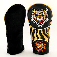 New Tiger Classic Retro Style Golf up to 460cc Driver Head cover, Black, Big Cat