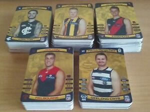 2021 AFL TEAMCOACH GOLD CARDS 'CHOOSE YOUR CARD/S'