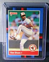 1988 Ken Dixon Donruss #48 Baseball Card