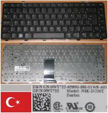 QWERTY KEYBOARD TURKISH DELL 1535 1536 1537 NSK-DC00T 0WT722 WT722