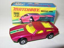MATCHBOX SUPERFAST 32 MASERATI BORA MIB