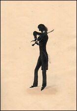 PAGANINI (Violin): Original Silhouette Portrait