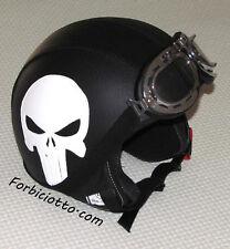 Casco in pelle per Harley Davidson The Punisher Skull