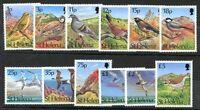 BRITISH ST HELENA - BIRDS Yvert # 592/603 Complete Set MNH VF