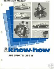 1996 BUICK KNOW-HOW KH-192  ABS  UPDATE   ABS  VI