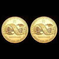 2010 P+D Native American Sacagawea Dollar Set ~ BU from U.S. Mint Roll