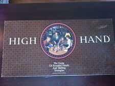 High Hand Board Game / 1984 - Revealed Hands & Shifting Strategies / Complete