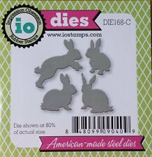 Rabbit Set Steel Die for Scrapbooking (Die168C)
