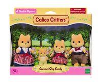 Sylvanian Families Calico Critters Caramel Dog Family