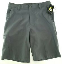 Champion Mens 30 Waist Golf Shorts Zip Pocket Dark Gray