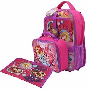 Disney Princess Palace Pets Backpack 3-piece Set