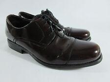 Johnston & Murphy Atchison Burgundy Leather Cap Toe Oxford Shoes 20-3243 Sz 11 M