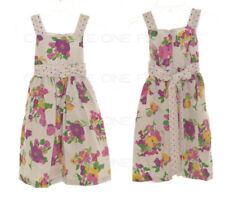 Vêtements multicolores habillés sans manches pour fille de 2 à 16 ans
