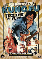 PRE ORDER: RETURN OF KUNG FU TRAILERS OF FURY - DVD - Region 1 - Sealed