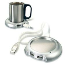 USB 4 port hub and cup or mug warmer.  Work from home treat